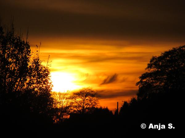 Sonnenuntergänge Oktober 2014
